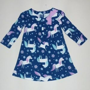 Gymboree Unicorn Dress 12-18 3T NEW